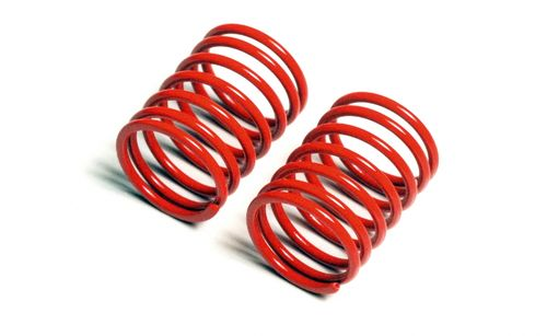 Tamiya 53630 - M-05 / M-06 / TT-01 / TT-02 - TRF Short Springs - RED (2 pcs)