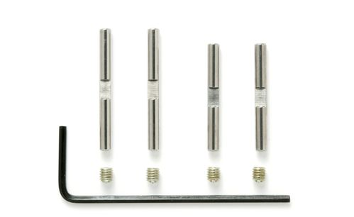 Tamiya 53825 - TRF 419 / Evo 6 - Outer Suspension Shafts (4 pcs)
