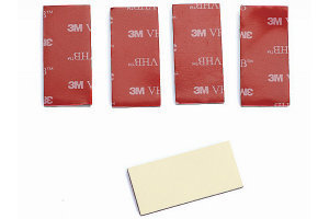 Graupner S8377 - Double Sided Adhesive Pad / Servotape - 46x31mm (5pcs)