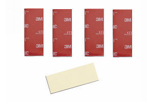 Graupner S8376 - Double Sided Adhesive Pad / Servotape - 46x22mm (5pcs)