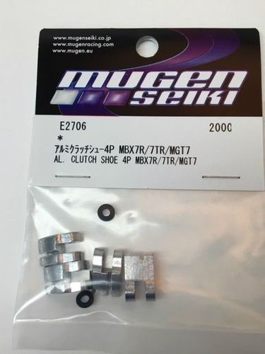 Mugen E2706 - MBX-7 - Alu Clutch Shoe - for 4 Pin System