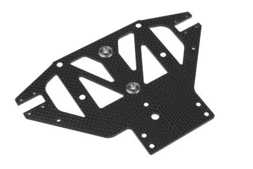 Corally 00130-006 - SSX-8 - Graphite Front Lower Suspension Plate