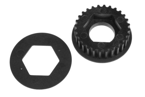Corally 00130-038 - SSX-8 - Composite Pulley - 28T - front