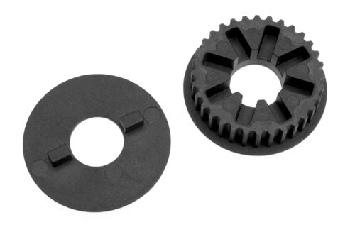 Corally 00130-050 - SSX-8 - Composite Pulley - 32T - front