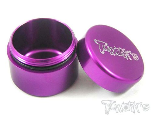T-Work's TA-033P - Alu Grease Holder - ca. 13ml - PURPLE