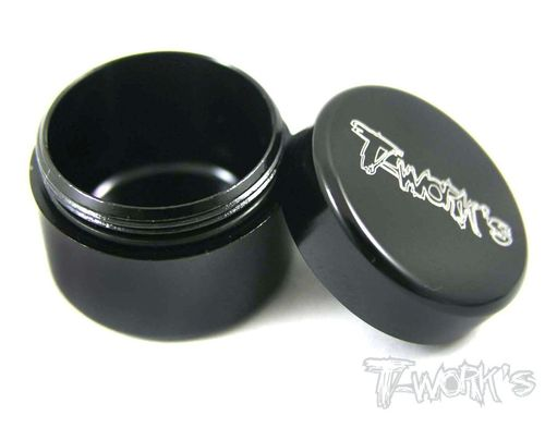 T-Work's TA-033BK - Alu Grease Holder - ca. 13ml - BLACK