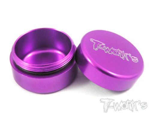 T-Work's TA-034P - Alu Grease Holder - ca. 10ml - PURPLE