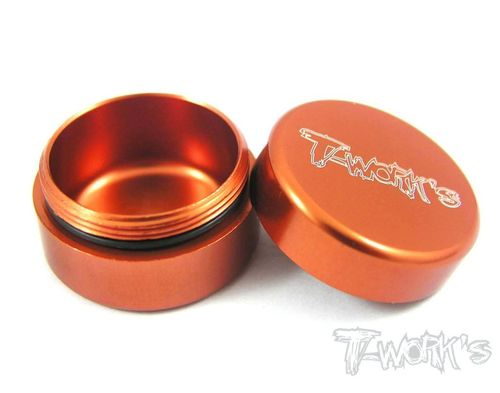 T-Work's TA-034O - Alu Grease Holder - ca. 10ml - ORANGE