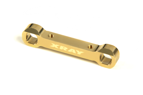 XRAY 323323 - XB2D 2017 Brass Rear Narrow Lower Suspension Holder Rear