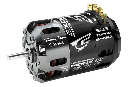 Corally 61002 - Dynospeed MODX 3.0 1/10 Competition Brushless Motor - 5.5 Turns Modified - 6450KV