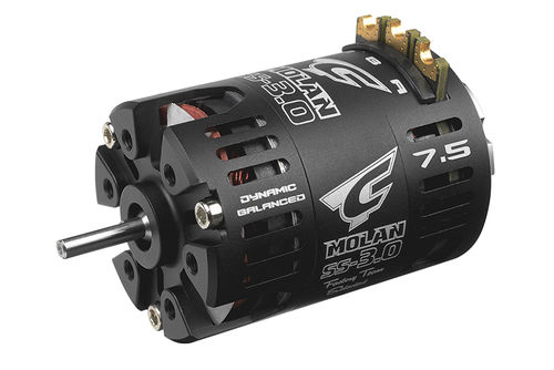 Corally 61054 - MOLAN SS-3.0 - 1/10 Competition Brushless Motor - Modified - 7.5 Turns - 4800KV