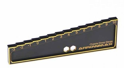 Arrowmax 171013 - CHASSIS DROOP GAUGE - Offraod (20MM) - Black Golden