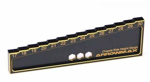 Arrowmax 171014 - Chassis Droop Gauge - Offroad (30MM) Black Golden