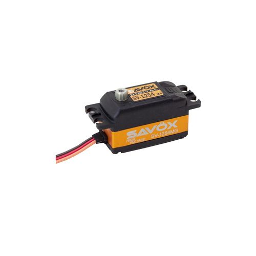 SAVÖX SV-1254MG - Low-Profile Digitalservo - High Voltage fähig