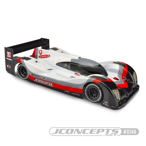 JConcepts J0348 - Layla L1 - LMP Prototype Body for 1/10 Formula