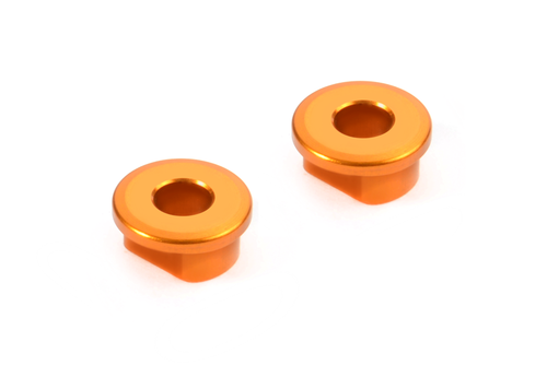 XRAY 372330-O - X12 2018 - Alu Excenter Bushings for Graphite Arms - 0.0mm (2 pcs)