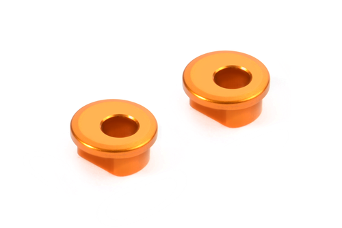 XRAY 372331-O - X12 2018 - Alu Excenter Bushings for Graphite Arms - 0.5mm (2 pcs)