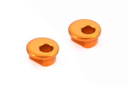 XRAY 372332-O - X12 2018 - Alu Excenter Bushings for Graphite Arms - 1.0mm (2 pcs)