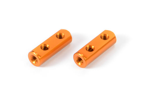 XRAY 376259-O - X12 2018 - Alu Servo Posts - ORANGE (2 pcs)