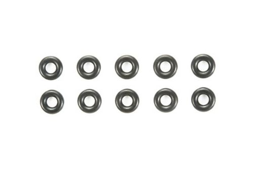 Tamiya 84195 - Standard O-Rings - 3x6x1.5mm (10 pcs) - BLACK