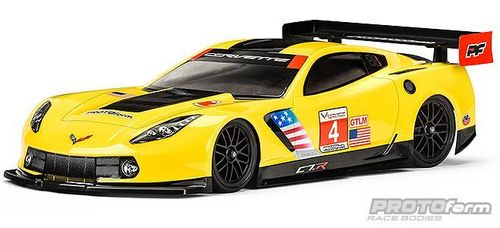 Protoform 1557-30 - Corvette C7.R - 190mm GT body for regular TW Chassis