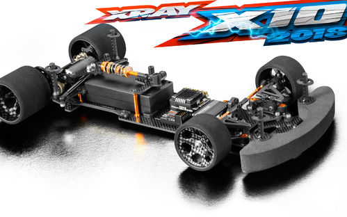 XRAY 370504 - X10 2018 - PanCar WGT Car Kit
