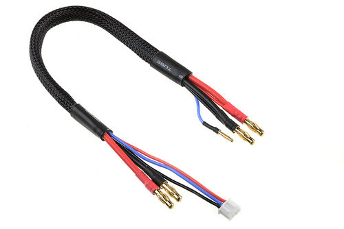 Corally 50289 - Charge Lead Ultra V+ - 14 AWG - 30 cm - XH Balancing Adapter