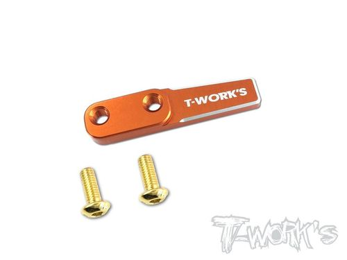 T-Work's TE-177-A - Alu Battery Backstop - for any XRAY T4