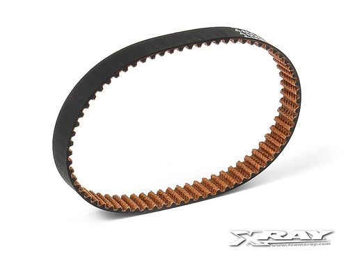 XRAY 345452 - RX8 2016 - Low Friction Drive Belt - Rear - 8.0x204mm
