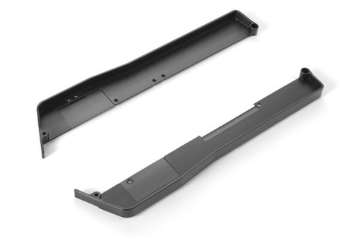 XRAY 361269-H - XB4 2018 - Composite Chassis Side Guards L+R - hard