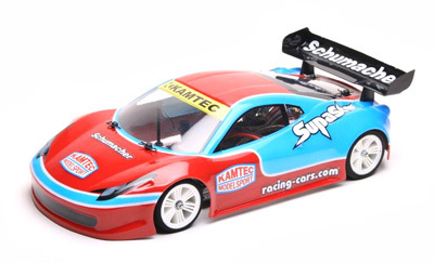 Schumacher G902 - 1:12 GT Body - SupaStox - Type F