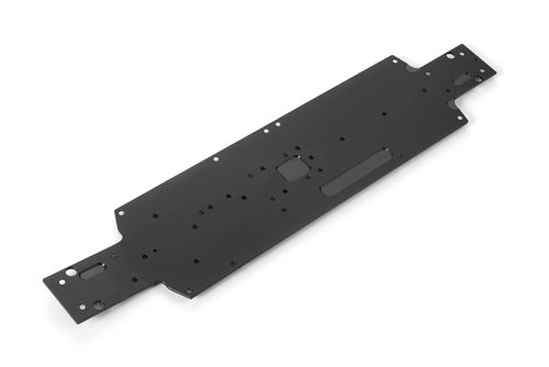 XRAY 361105 - XB4 2018 - Alu Lower Deck - BLACK