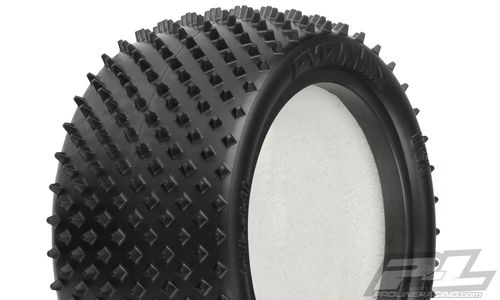 "ProLine 8267-104 - Pyramid 2.2"" 2WD Z4 Rear Tires - Carpet - Soft - 2.2"" - (2+2 pcs)"