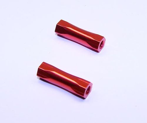 CRC 1738 - CK25 - Red Hex Standoffs 4-40 x 5/8 (2 pcs)