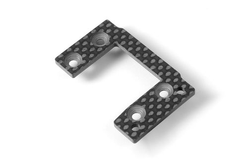 XRAY 354056 - XT8 2017 - Graphite Center Diff Mounting Plate