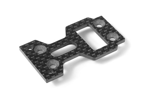 XRAY 354251 - GTXE - Graphite Center Mounting Plate - 2.5mm