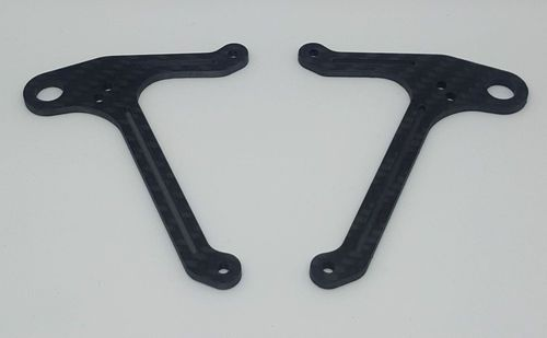 TRR-RaceStuff AE-F0007 - Lower Suspension Arm for Asso F6 - Medium Flex - (Left & Right)