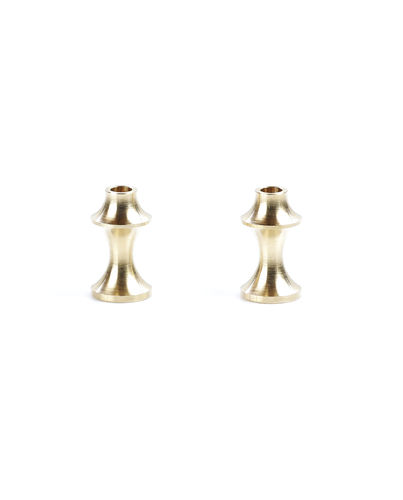 PSM PS01941 - Kyosho TKI4 - Brass Anti-Twist Balance Weight Set - Rear - (2pcs)