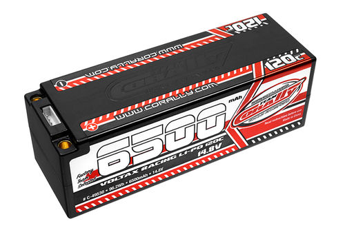 Corally 49530 - VOLTAX 120C LiPo Battery - 6500mAh - 14.8V - Stick 4S