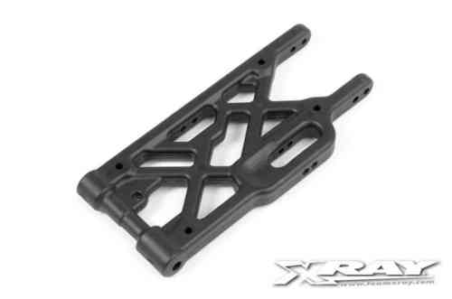 XRAY 353116-G - XB8 - Composite Rear Lower Suspension Arm - GRAPHITE