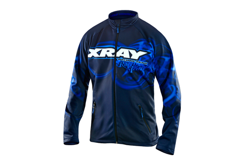 XRAY 396020L - Luxury Team Softshell Jacke - Größe L - Version 2018