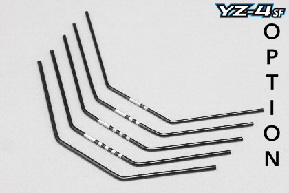 Yokomo S4-412WH - YZ-4SF - Stabilizer Wire Set - hard - 1.6-2.0mm (5 pcs)