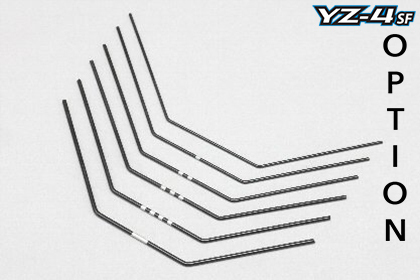 Yokomo S4-412WH - YZ-4SF - Stabilizer Wire Set - soft - 1.0-1.5mm (6 pcs)
