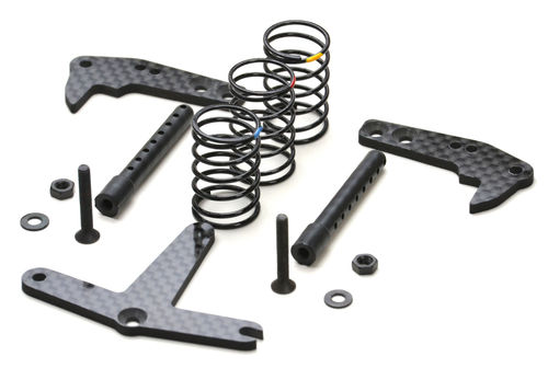 Exotek 1824 - Associated F6 - Rear Traction Plate - Conversion Kit