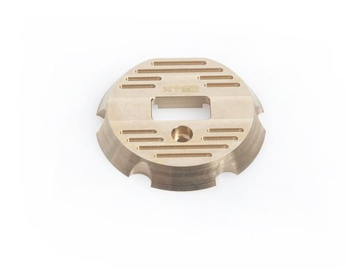 LRP 520515 - X22 Brass Endcover with cooling fins