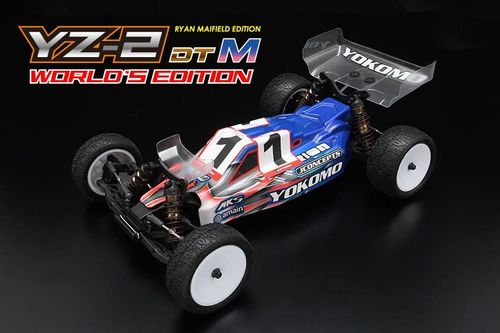 Yokomo YZ-2 DTMWE - 1:10 Offroad 2WD Buggy Kit - Ryan Maifield World's Edition