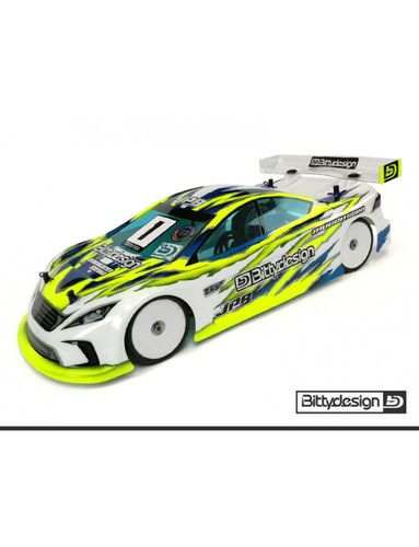 BittyDesign - JP8 - 1:10 Tourenwagen Karosserie - 190mm - LIGHTWEIGHT