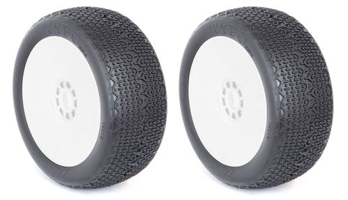 AKA 14015CRW - Typo - CLAY - 1:8 Buggy Pre-Mounted Tires (2 pcs)