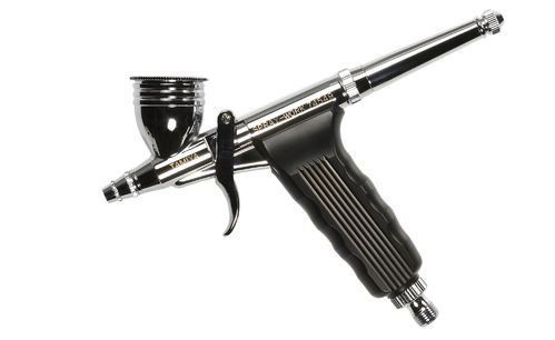 Tamiya 74549 - SPRAY-WORK - HG Super Fine Airbrush Pistole - Double Action - 0.2mm