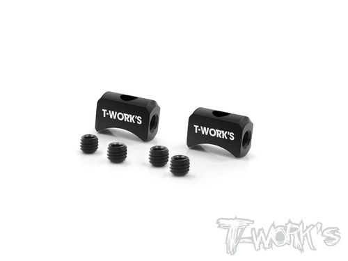 T-Work's TG-054 - Aluminum Exhaust Lock (2 pcs)